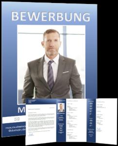 Lebenslauf Vorlage business 3 vorschau